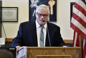 Ken Derschan at District Meeting 2018