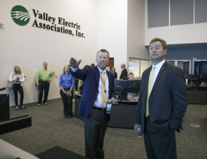 VEA Chief Executive Officer Tom Husted and U.S. Senator Dean Heller